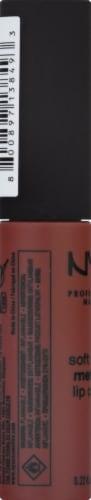 NYX Professional Makeup SMMLC09 Rome Soft Matte Metallic Lip Cream Perspective: left