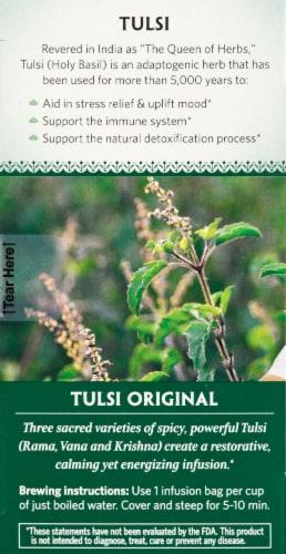 Organic India Tulsi Orginal Tea Perspective: left