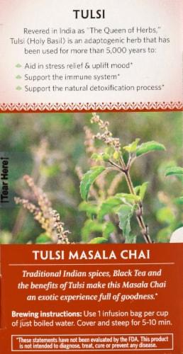 Organic India Masala Chai Tulsi Tea Perspective: left