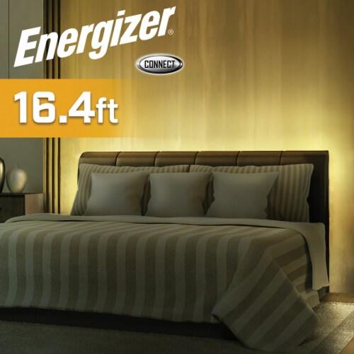 Energizer Connect EOS2-1001-WHT Smart Multicolor LED Light Strip, 16.4 Feet Perspective: left