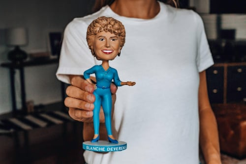 The Golden Girls 8 Inch Resin Bobblehead | Blanche Devereaux Perspective: left