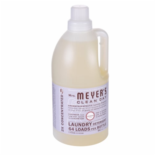 Mrs. Meyer's Clean Day Lavender Scent Laundry Detergent Perspective: left