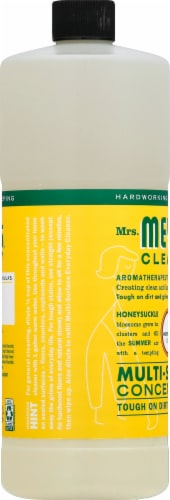 Mrs. Meyer's Clean Day Honeysuckle Scent Multi-Surface Concentrate Perspective: left