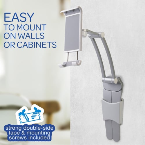 Ihip 2 In 1 Wall Hanging Mount Phones Or Tablet Stand Perspective: left