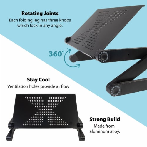 Ihip Adjustable Portable Laptop Table Stand Perspective: left