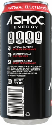 Adrenaline Shoc Shoc Wave Smart Energy Drink Perspective: left