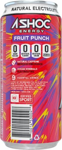 Adrenaline Shoc Fruit Punch Smart Energy Drink Perspective: left