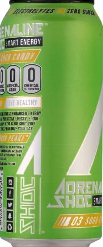 Adrenaline Shoc Smart Energy Sour Candy Energy Drink Perspective: left