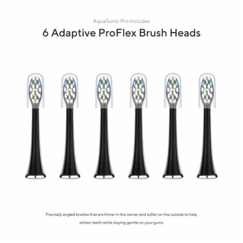AquaSonic Black Series Pro - Electric Toothbrush Perspective: left