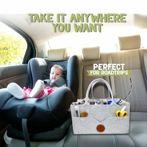 Original 2.0 Diaper Caddy Perspective: left
