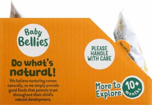 Little Bellies Baby Bellies Organic Banana Softcorn Snack Perspective: left