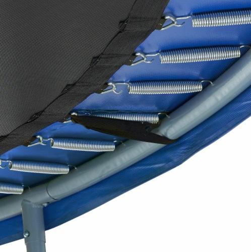 Super Spring Cover - Safety Pad, Fits 15 FT Round Trampoline Frame - Blue Perspective: left