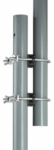 """Trampoline Enclosure Pole Connecter, Fits Poles  up-to 1.5"""" Diameter or 1.75"""" Leg - 16 Perspective: left"""