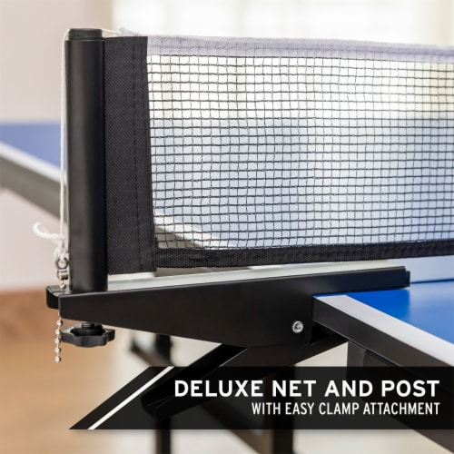 HEAD 15mm Surface Grand Slam Indoor Ping Pong Table Tennis with Net and Post Set Perspective: left