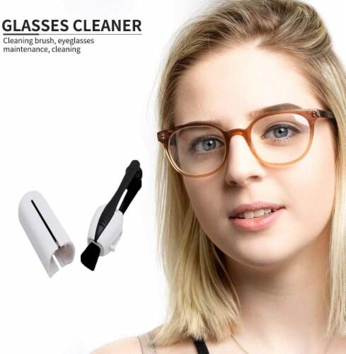 CarbonKlean Eyeglass Lens Cleaner - Efficient and Durable Carbon Microfiber Technology Perspective: left