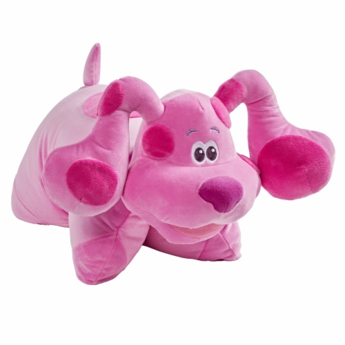 Pillow Pets Nickelodeon Blue's Clues Magenta Plush Toy Perspective: left