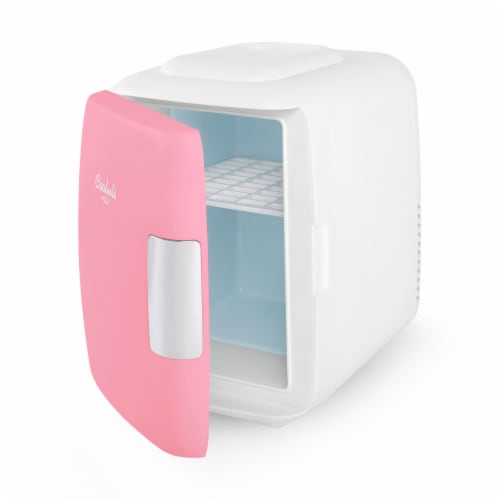 Cooluli Classic 4 Liter Portable Compact Mini Fridge - Pink Perspective: left