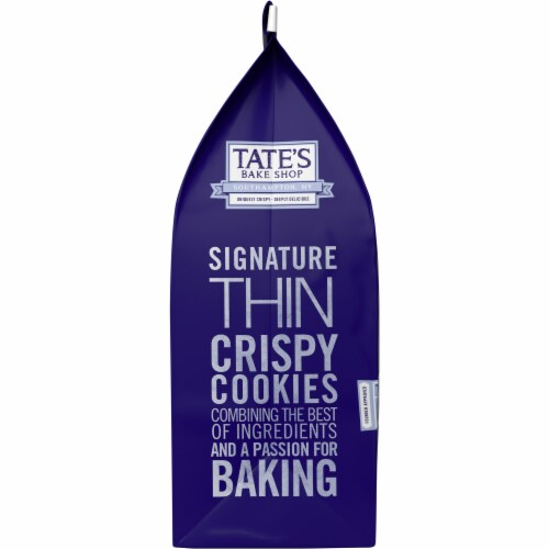 Tate's Bake Shop Limited Edition Blueberry Crisp Cookies Perspective: left