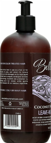 Bella Curls Coconut Whipped Creme Leave-In Conditioner Perspective: left