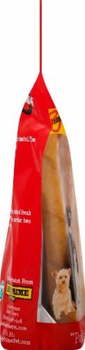 Savory Prime Treat  Pork Skin Twists Natural Smoked Flavor Beggar Bones Perspective: left