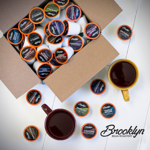 Brooklyn Beans Flavored Hot Chocolate Pods, for 2.0 Keurig, Mexican Cocoa, 40 Count Perspective: left