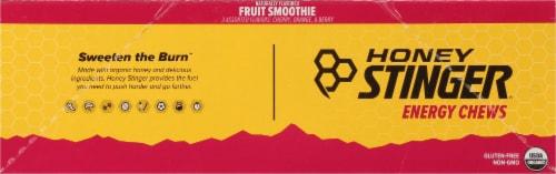 Honey Stinger Organic Fruit Smoothie Energy Chews Perspective: left