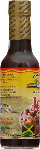 Caribbean Sunshine Jamaican Jerk Sauce Perspective: left