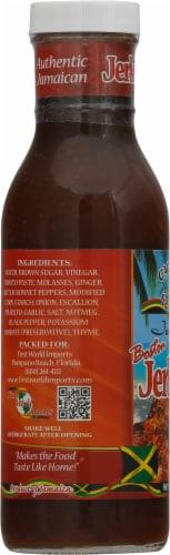 Caribbean Sunshine Jamaican Boston Jerk BBQ Sauce Perspective: left