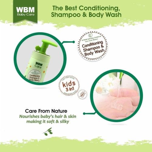 WBM Baby Care Body Wash, Hair Conditioning & Skin Moisturizing, Shampoo & Body Wash   10 Oz Perspective: left
