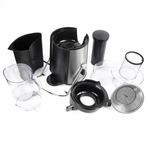 750 Watts Power Juicer with Juice Cup Perspective: left