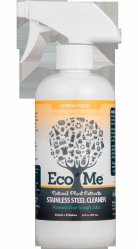 Eco-Me  Stainless Steel Cleaner Perspective: left