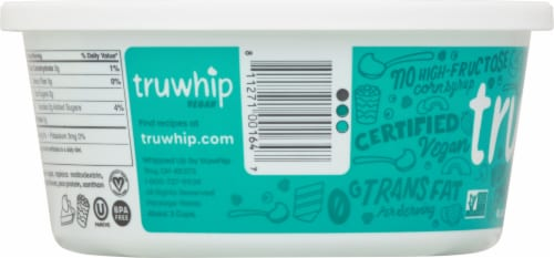 Truwhip Vegan Whipped Topping Bowl Perspective: left