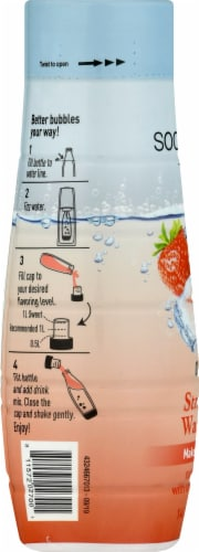 SodaStream Strawberry Watermelon Drink Mix Perspective: left