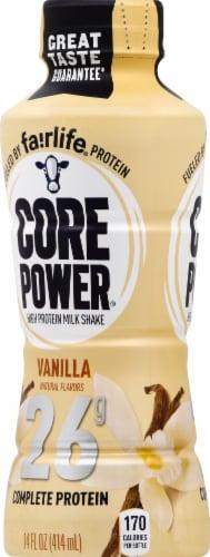 Core Power Vanilla High Protein Milk Shake Perspective: left