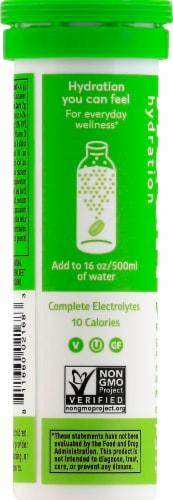 Nuun Hydration Tangerine Lime Effervescent Vitamin Supplement Tablets Perspective: left