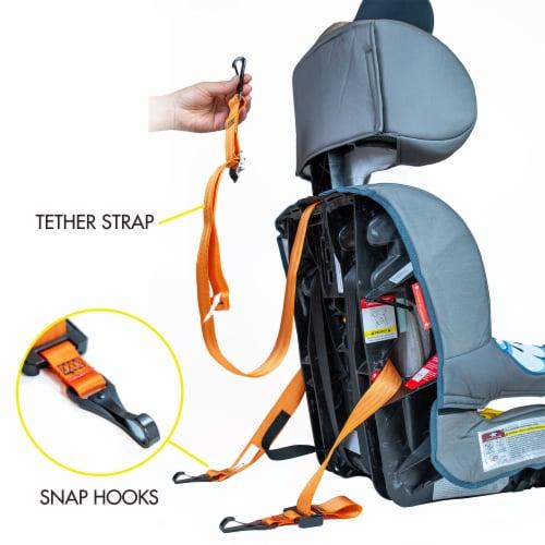 KidsEmbrace Disney Cinderella Platinum Combination Harness Booster Car Seat Perspective: left