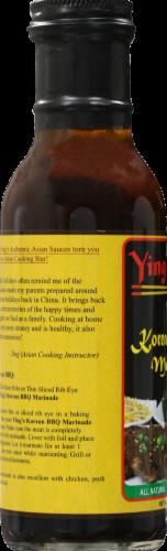 Ying's Korean BBQ Marinade Perspective: left