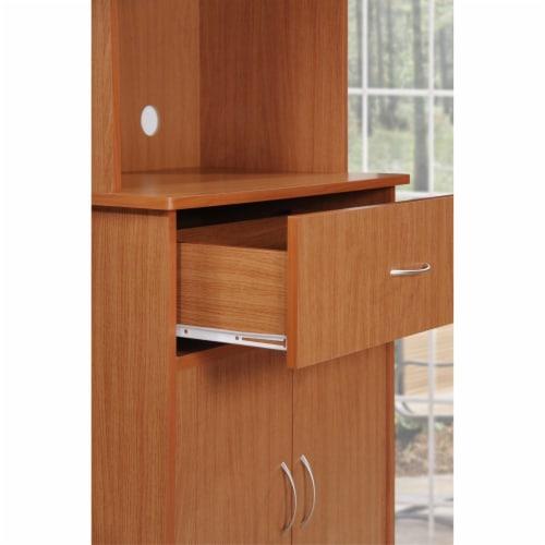 Kitchen Cabinet in Cherry - Hodedah Perspective: left