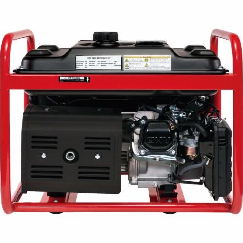 4000 Watt Gas Generator Emergency Lifan Engine Power Camp Tailgate Perspective: left