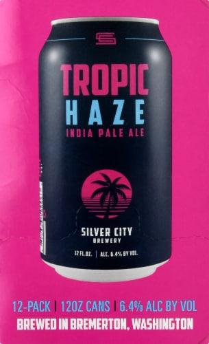 Silver City Tropic Haze IPA Perspective: left