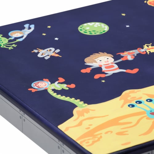 Fantasy Fields Childrens Kids Outer Space Wooden Table (no chairs) TD-12211A1 Perspective: left