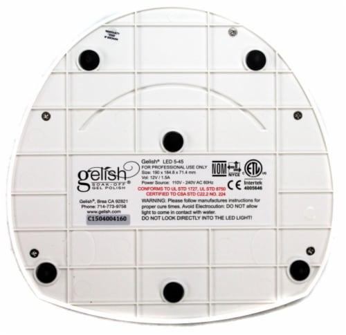 Gelish Harmony Pro 5-45 18W LED Gel Nail Soak Off Polish Curing Light Lamp Perspective: left