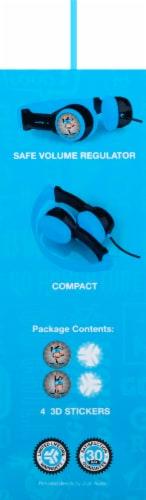 JLab Audio JBuddies Kids Folding Headphones - Gray/Blue Perspective: left
