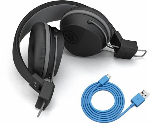 JLab Audio Neon Bluetooth Wireless On-Ear Headphones - Black Perspective: left