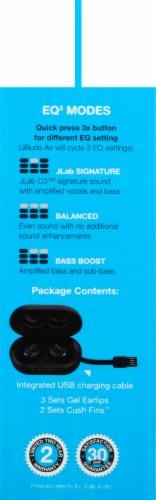 JLab Audio Earbuds - Black Perspective: left