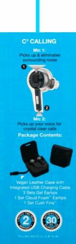 JLab Audio JBuds Air Executive True Wireless Earbuds - Black Perspective: left