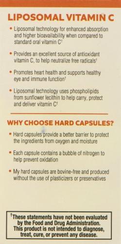 Mercola Liposomal Vitamin C Capsules Perspective: left