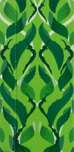 Pukka Organic Three Mint Herbal Tea Sachets Perspective: left