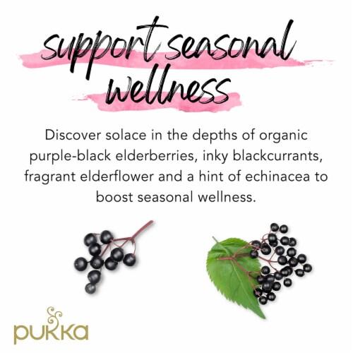 Pukka Blackcurrant Beauty Herbal Tea Perspective: left