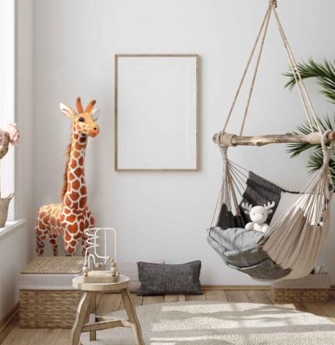 Linzy Toys Standing Giraffe Plush Perspective: left